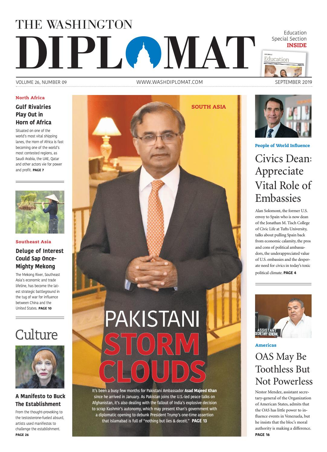 The Washington Diplomat - September 2019 by The Washington
