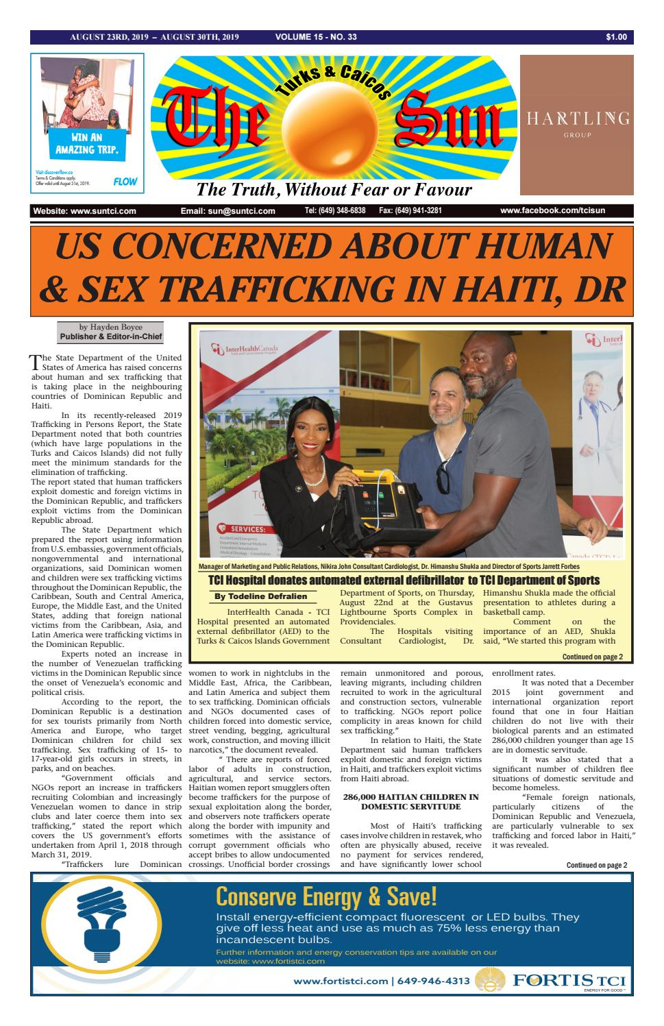 VOLUME 15 ISSUE 33 by The SUN Newspaper - issuu