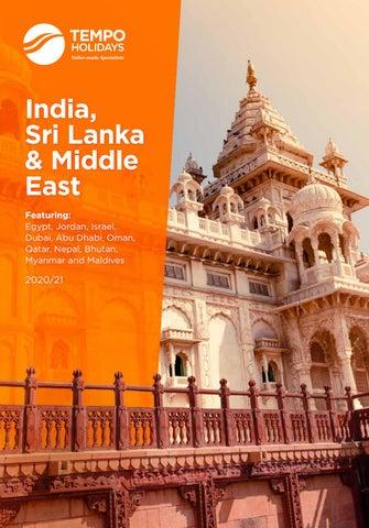 Saline Community Fair 2020.Tempo Holidays 2020 India Sri Lanka Middle East