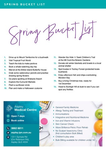 Page 14 of Spring Bucket List