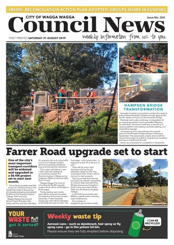 Council News 260 31 August 2019 By Wagga Wagga City Council Issuu