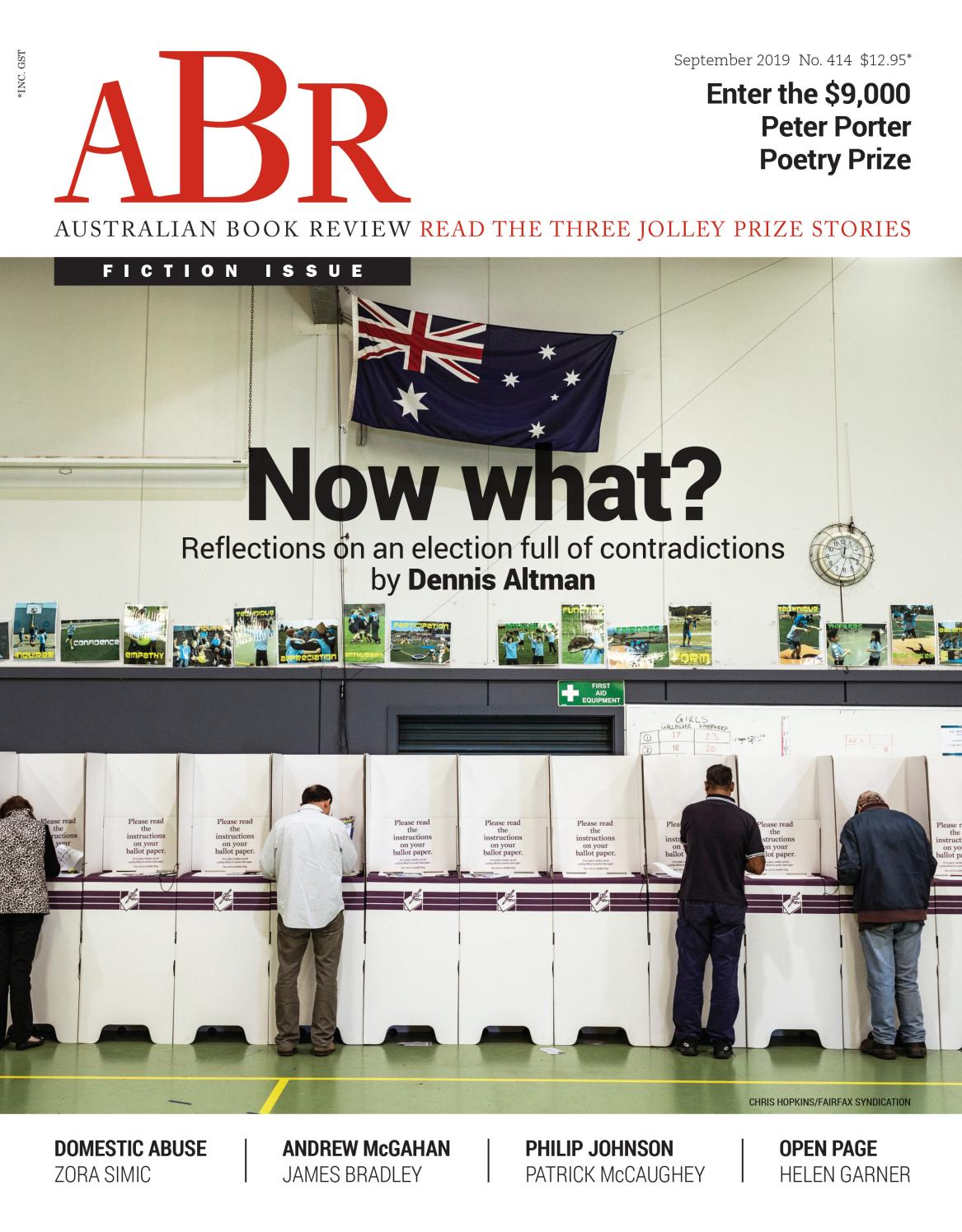 Australian Book Review, September 2019, issue no  414 by