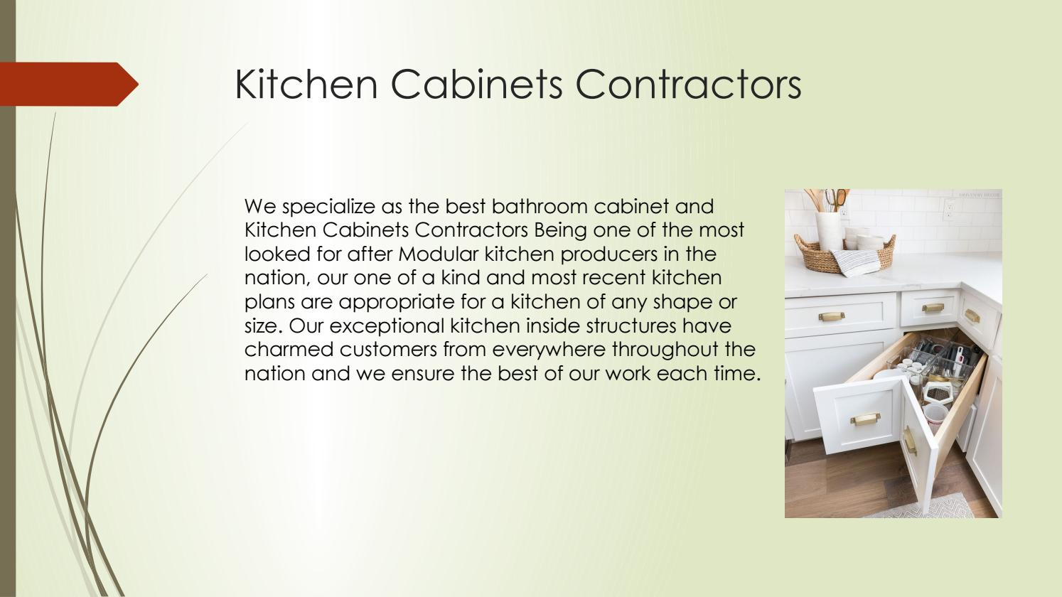 Kitchen Cabinets Contractors Arlington Heights Il By Hollie Taylor Issuu
