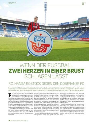 Page 28 of Wenn der Fußball zwei Herzen in einer Brust schlagen lässt