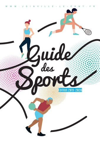 Guide Des Sports 2019 2020 By Mairie De Joinville Le Pont Issuu