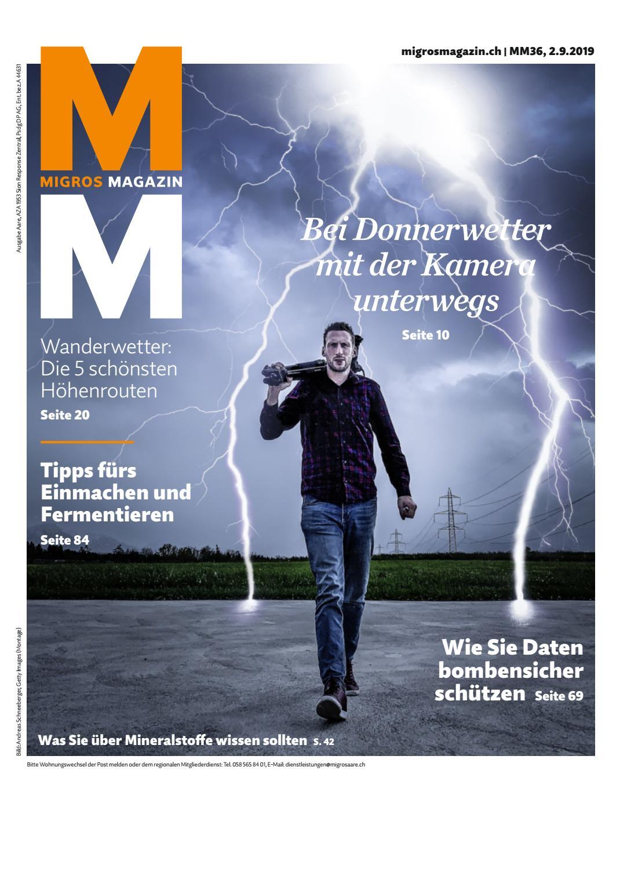 Migros Magazin 36 2019 d AA by Migros Genossenschafts Bund