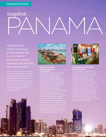 Page 30 of Snapshot: Panama City Central America's Capital of Cool