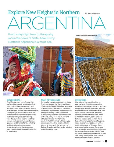 Page 33 of Explore New Heights in Northern Argentina