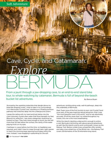 Page 34 of Cave, Cycle, and Catamaran: Explore Bermuda