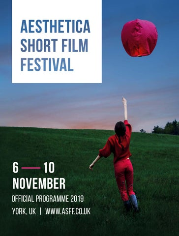 Aesthetica Short Film Festival 2019 – Official Programme by