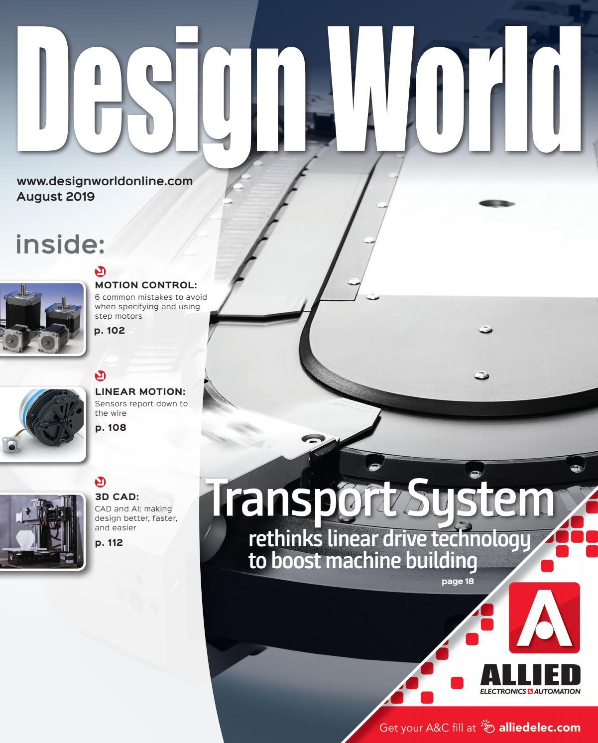Design World August 2019 By Wtwh Media Llc Issuu