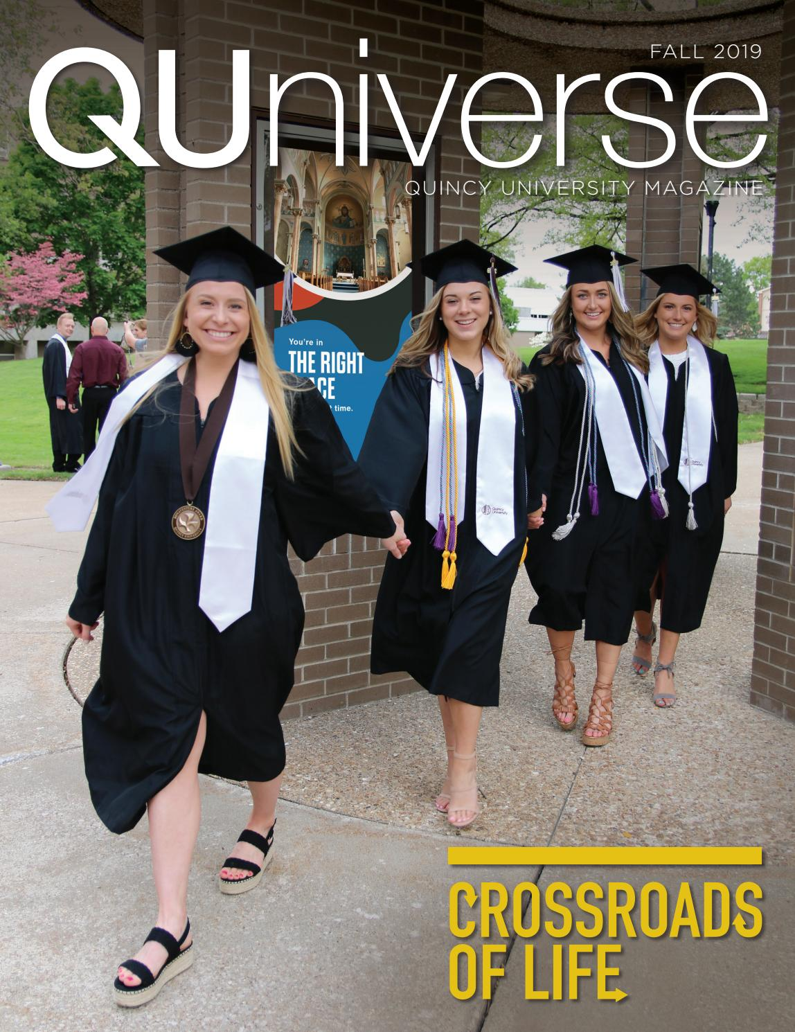 QUniverse Fall 2019 by Quincy University issuu