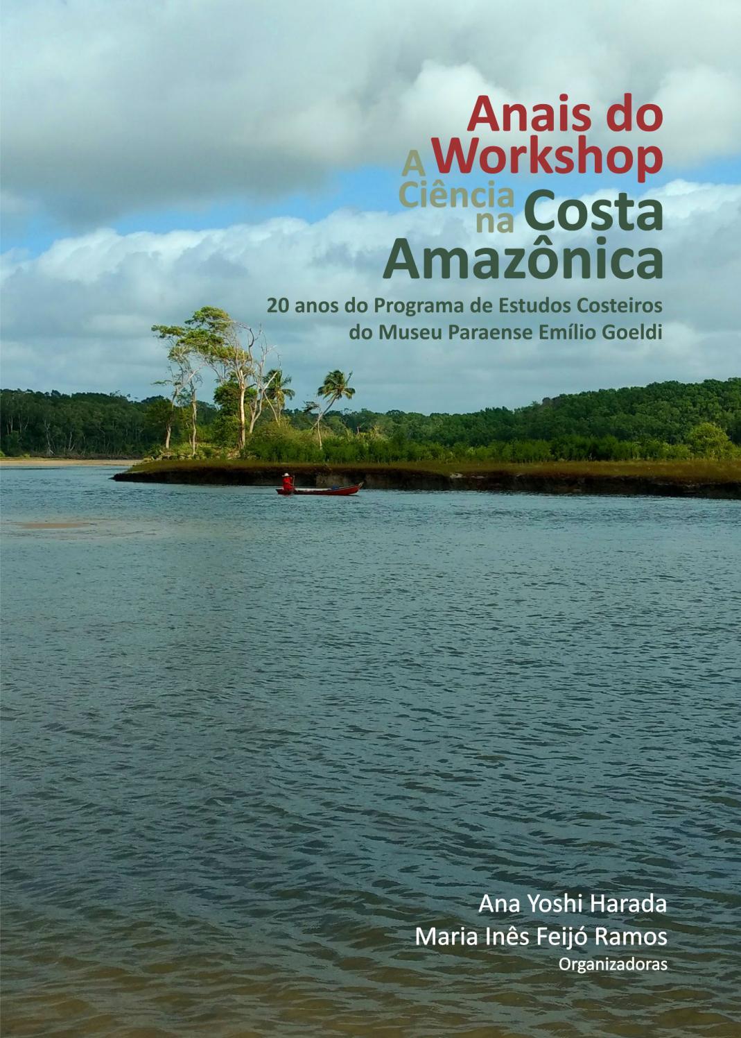 20 Anos Pec Anais Do Workshop A Ciência Na Costa Amazônica