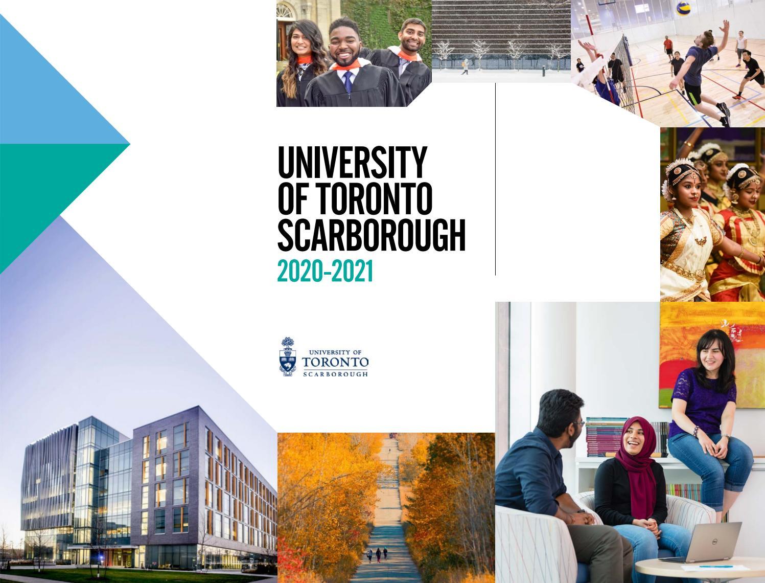 Chương trình học hợp tác với đại học Scarborough năm học 2020-2021