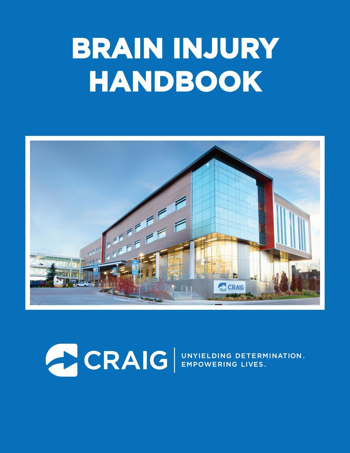 Craig Hospital Brain Injury Handbook by Craig Hospital - issuu