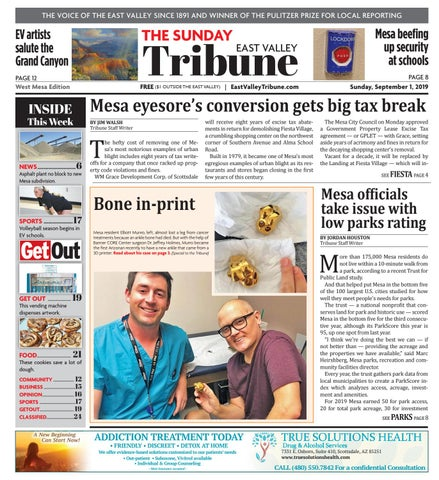 East Valley Tribune West Mesa 09-01-2019 by Times Media