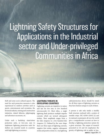 Page 19 of Lightning Safety Structures for Application in the Industrial Sector...
