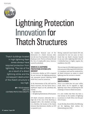 Page 28 of Lightning Protection Innovation for Thatch Structures