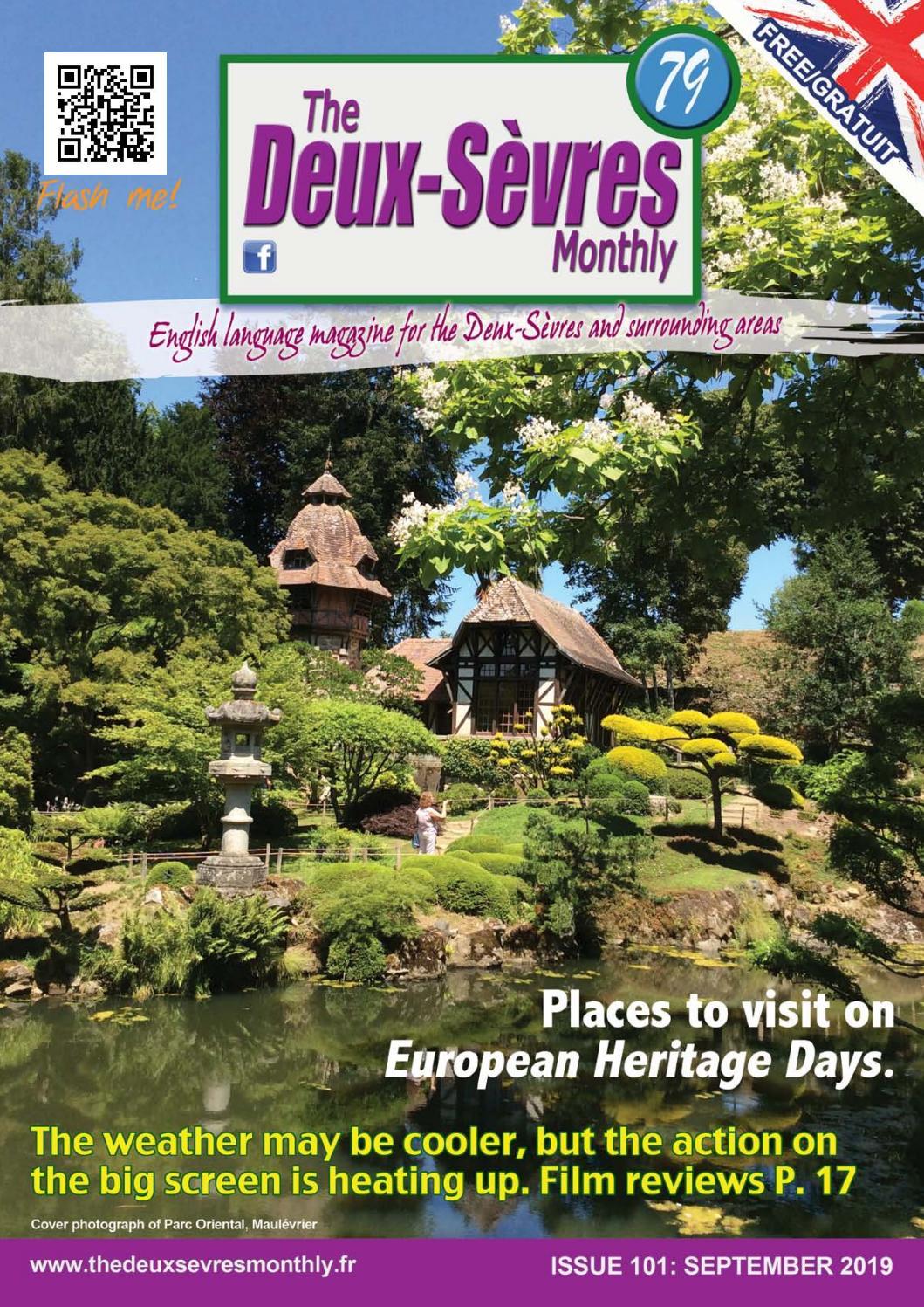Japonais Val De Fontenay the deux-sevres monthly magazine september 2019 issuethe