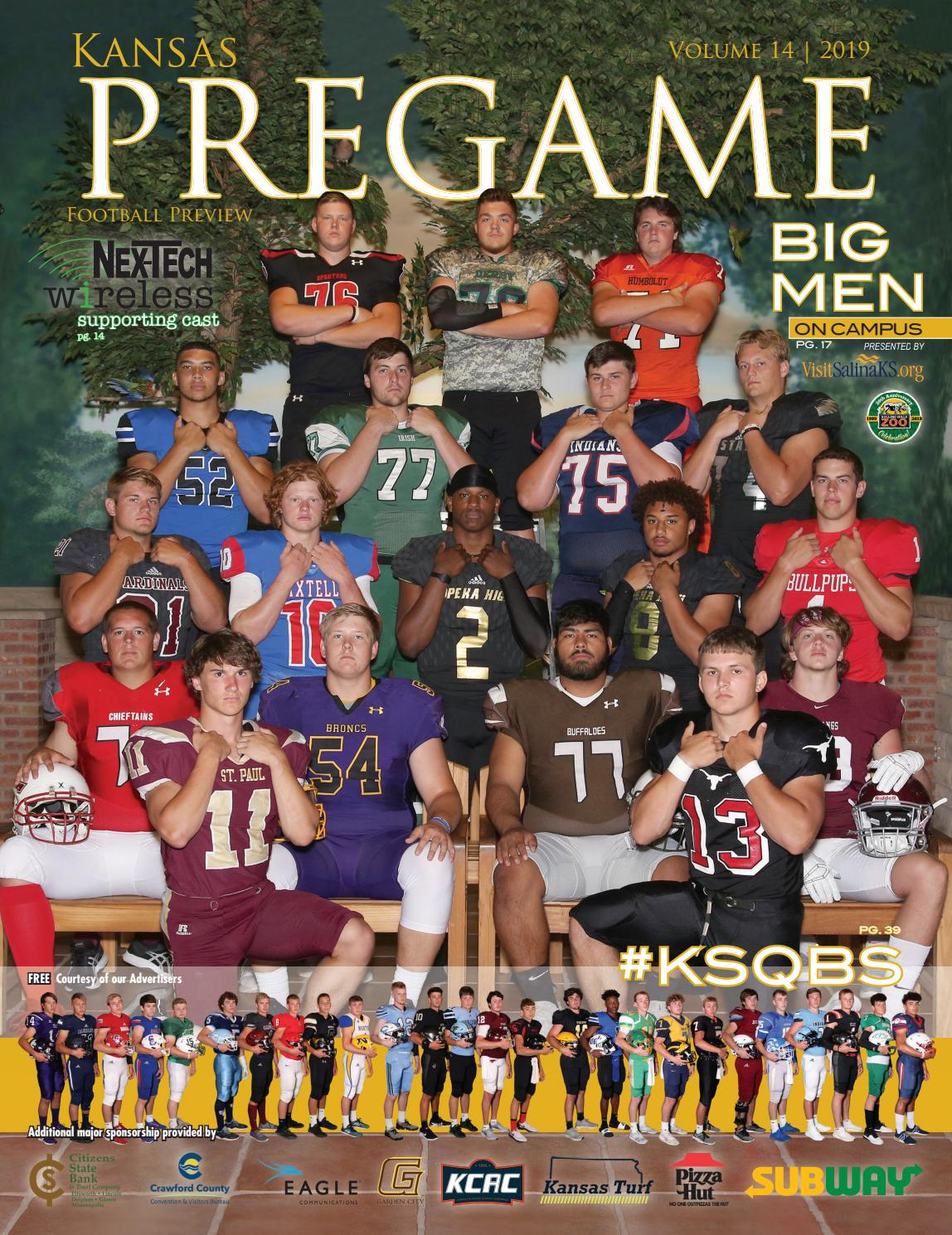 Kansas Pregame Football Preview 2019 By Sixteen 60 Publishing Co Issuu