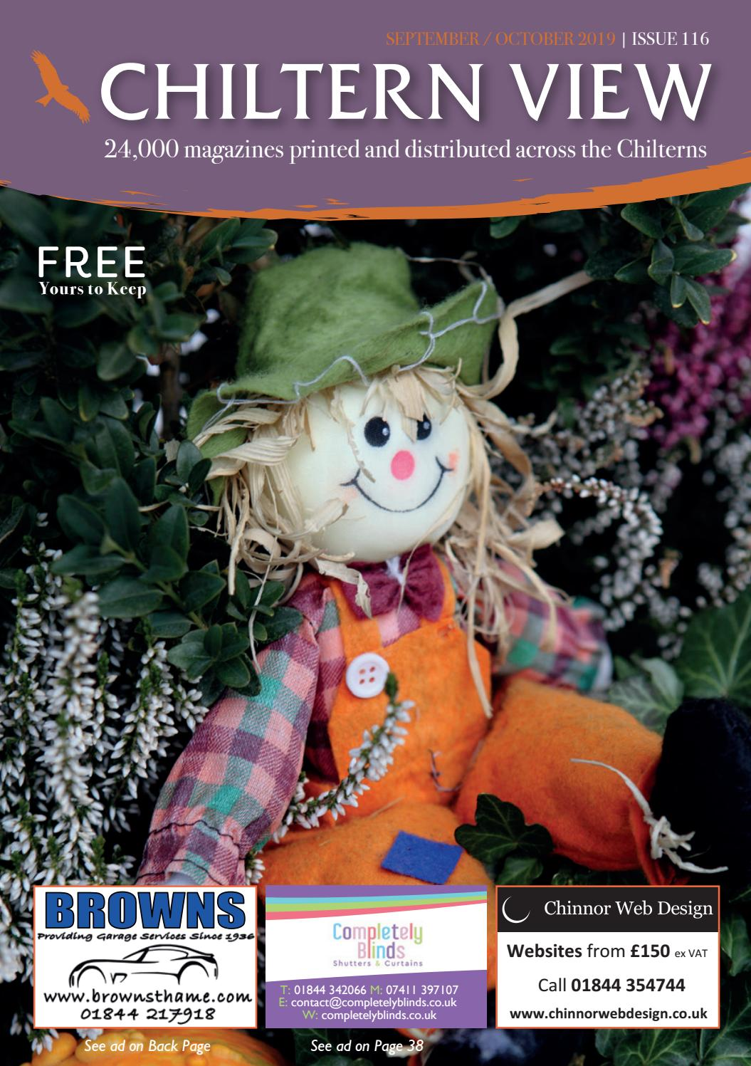 Sept Oct Edition of Chiltern View Magazine by Coralie Bourke
