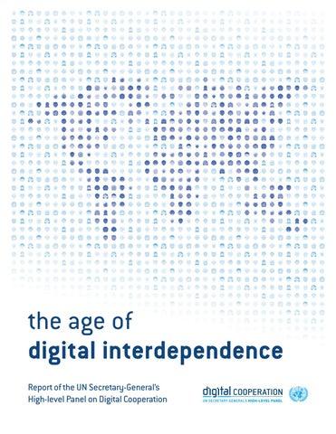 Informe sobre Panel de Alto Nivel del secretariado General sobre Cooperación Digital