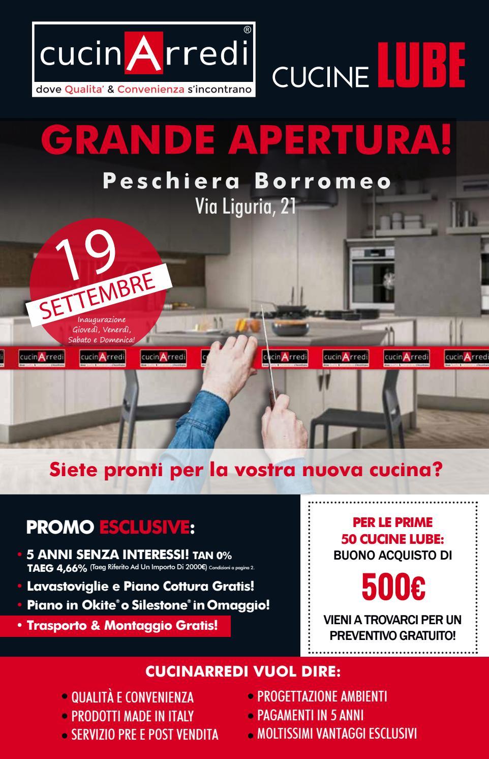 Grande Apertura Cucinarredi Peschiera Borromeo By Cucinarredi Issuu