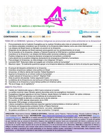 Boletín Alas Oe 318 By Boletín Alas Oe Issuu