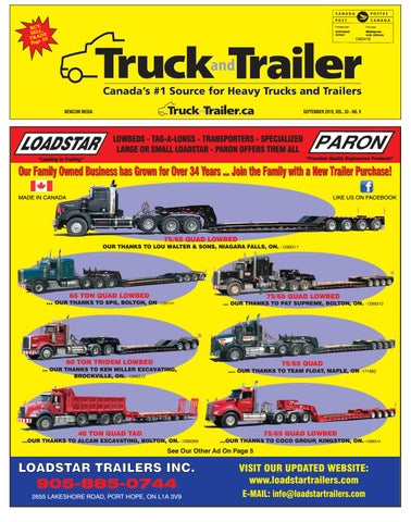 Truck and Trailer September 2019 by Annex Business Media - issuu