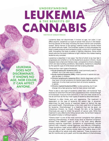 Page 54 of UNDERSTANDING LEUKEMIA + THE BENEFITS OF CANNABIS