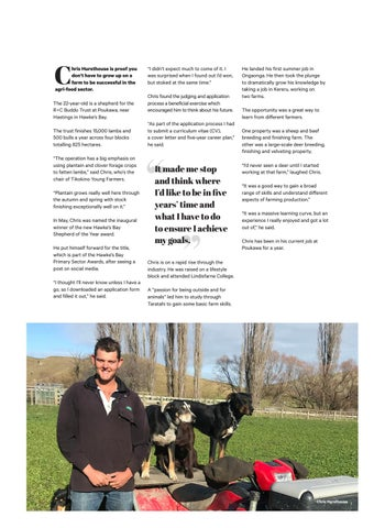 Page 19 of Hawke's Bay Shepherd of the Year