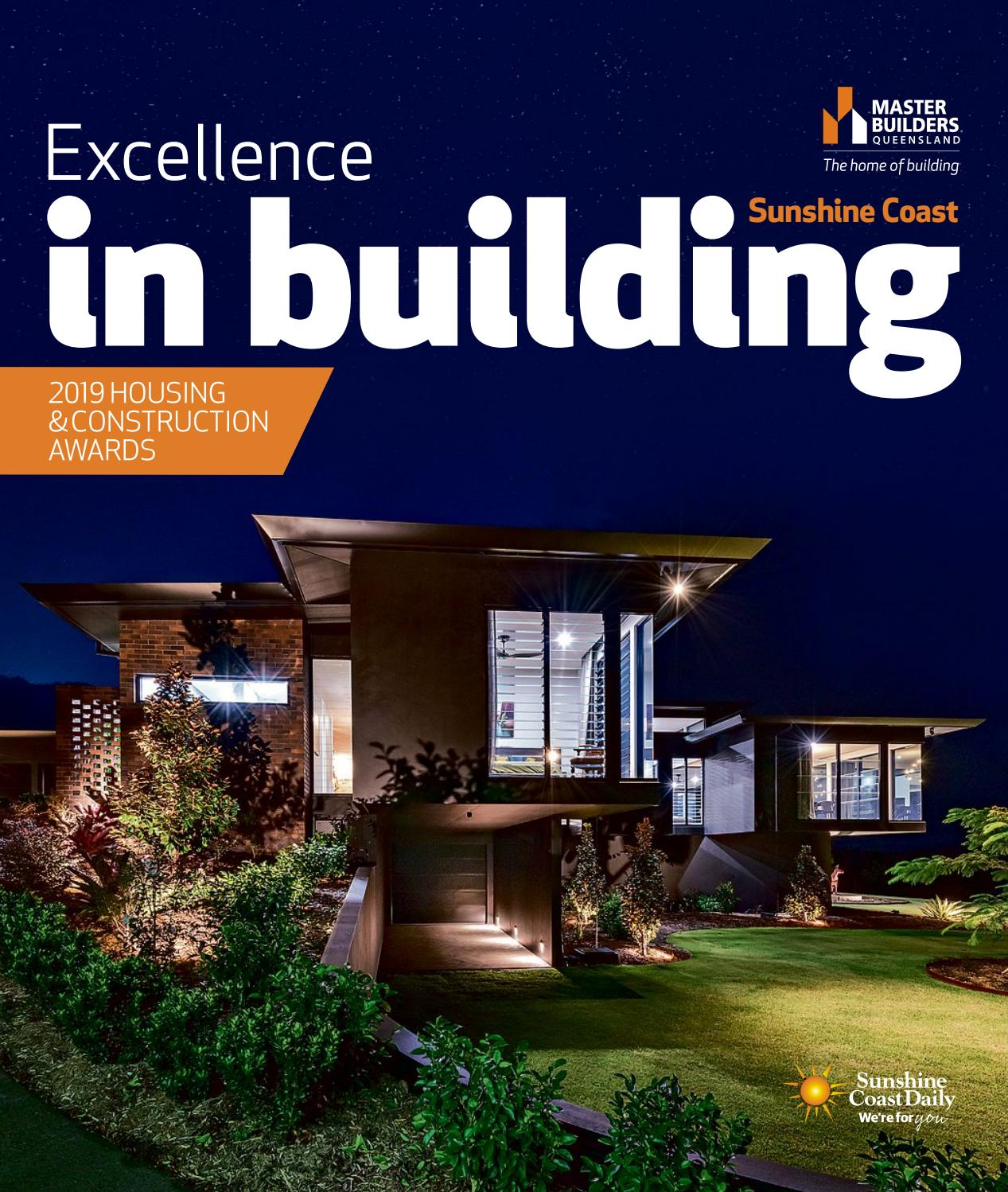 Excellence in Building Sunshine Coast 2019 by NRM Custom