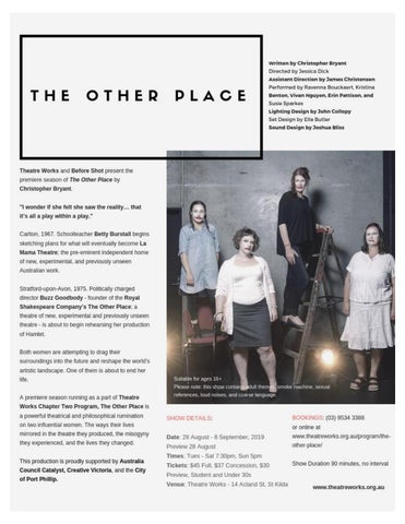 Page 39 of Theatre: The Other Place