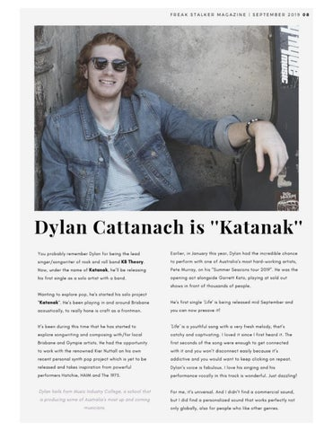 Page 9 of Dylan Cattanach is Katanak