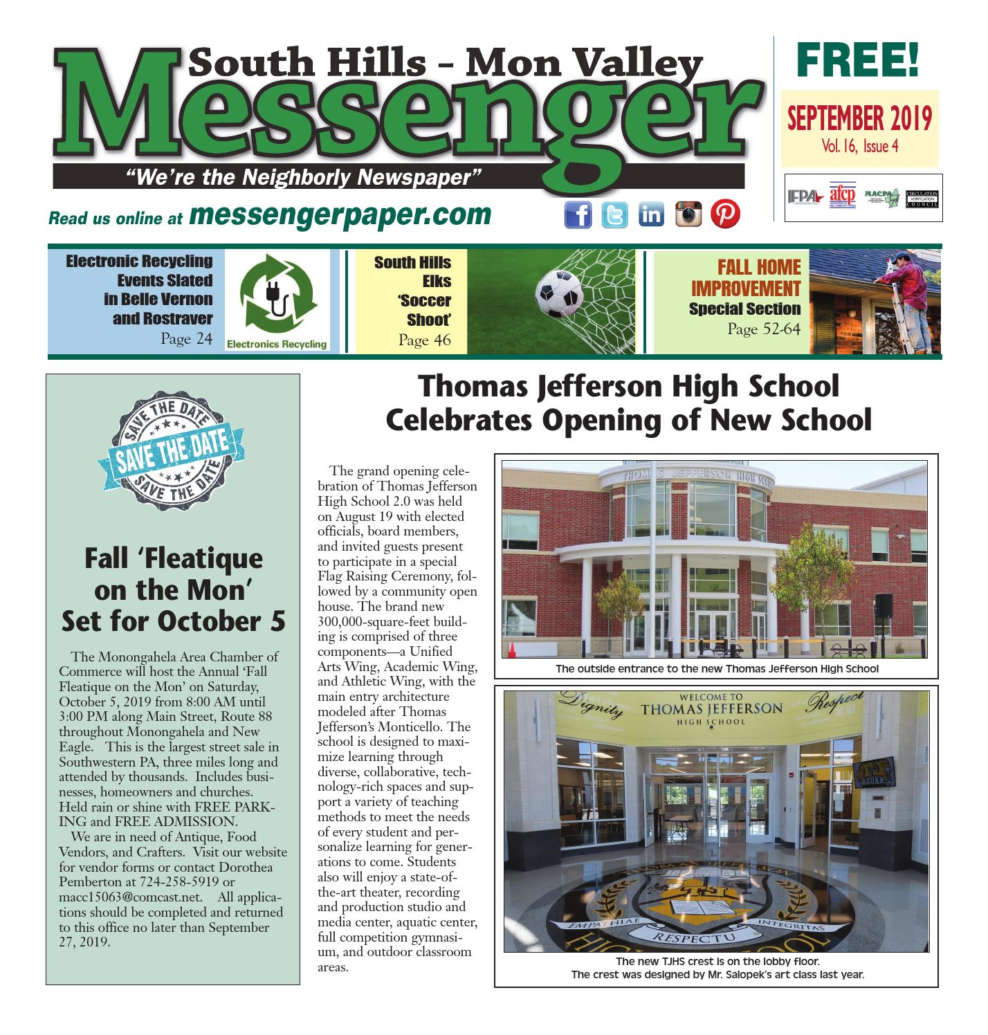 South Hills Mon Valley Messenger September 2019 By South Hills Mon Valley Messenger Issuu