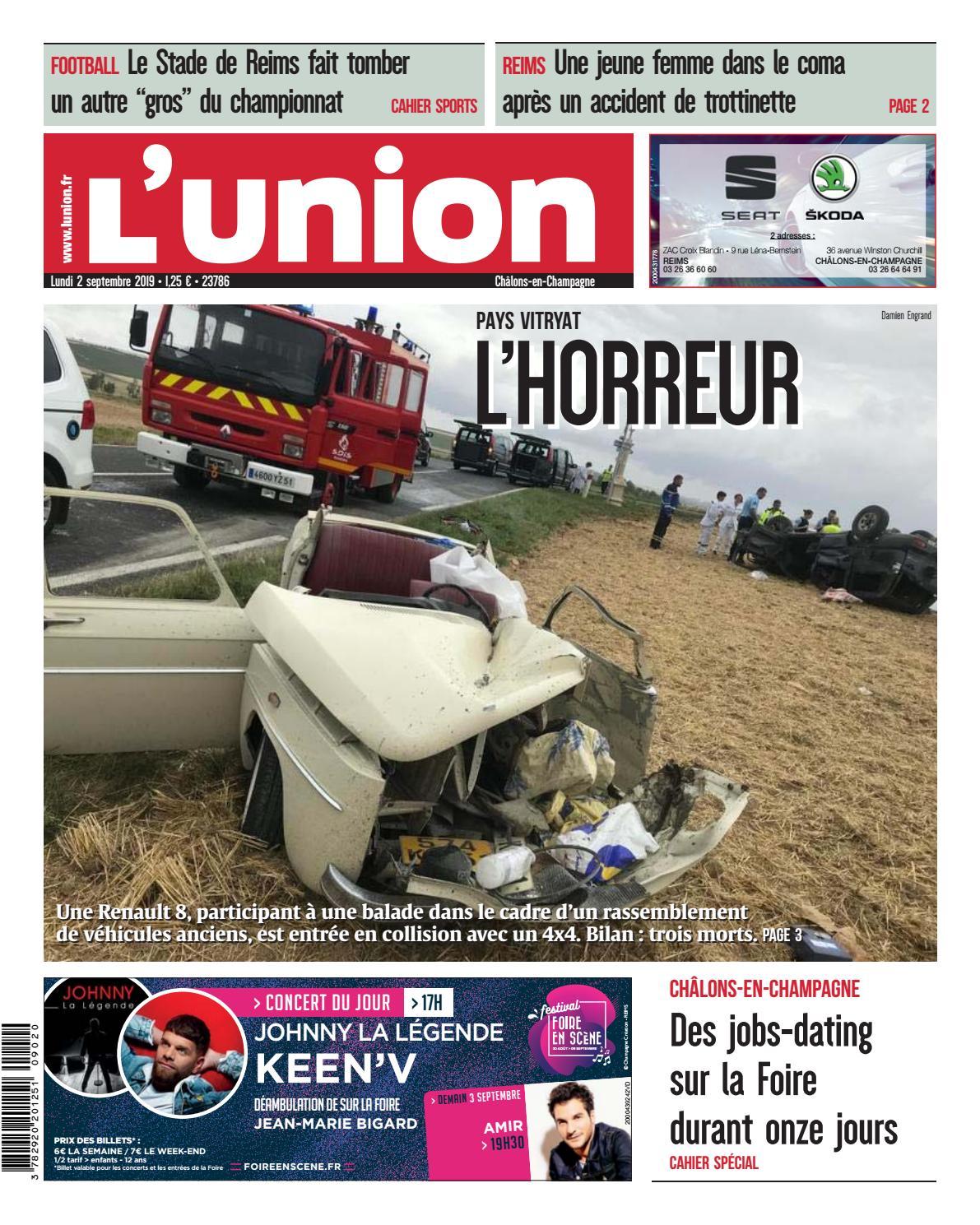 Mobilier De France Chalons En Champagne le journal de la foire de châlons du lundi 2 septembre 2019