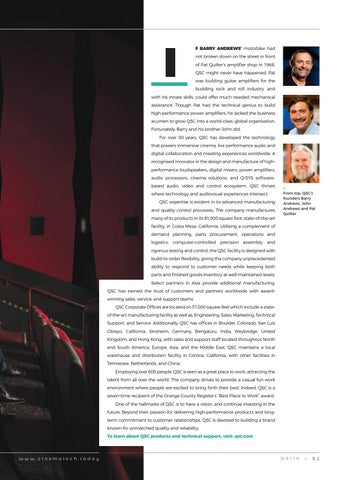 Page 53 of QSC: Striving to deliver the networked cinema
