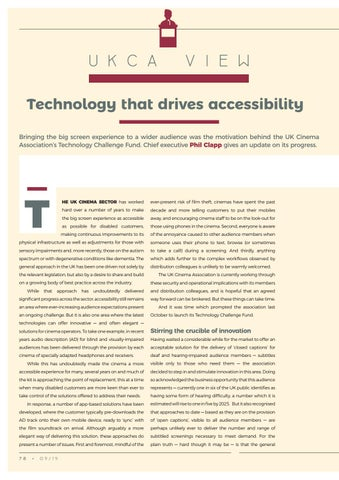 Page 78 of UKCA View: Technology that drives accessibility