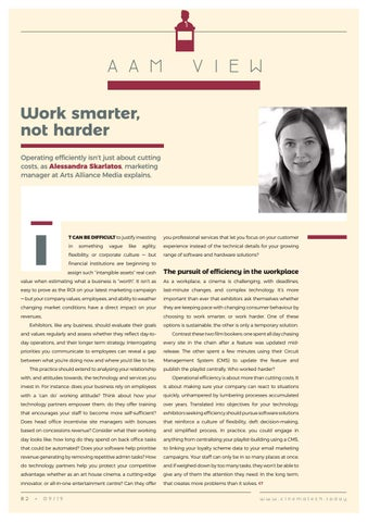 Page 82 of AAM View: Work smarter, not harder