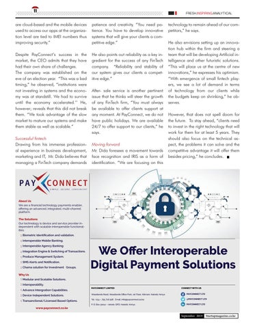 Page 11 of PayConnect