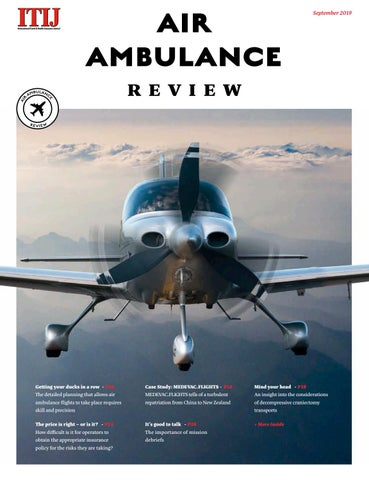 ITIJ Air Ambulance Review September 2019 by ITIJ