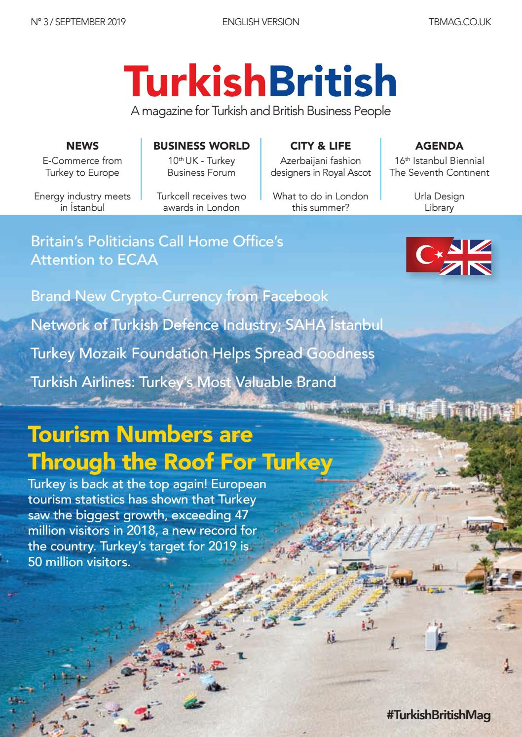 Turkish British Magazine English Edition N 3 September 2019 By Afs Communication Issuu
