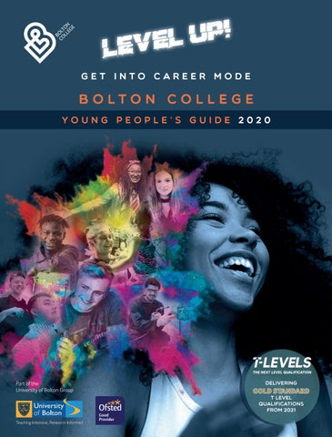 Young People\'s Guide 2020 by Bolton College - issuu