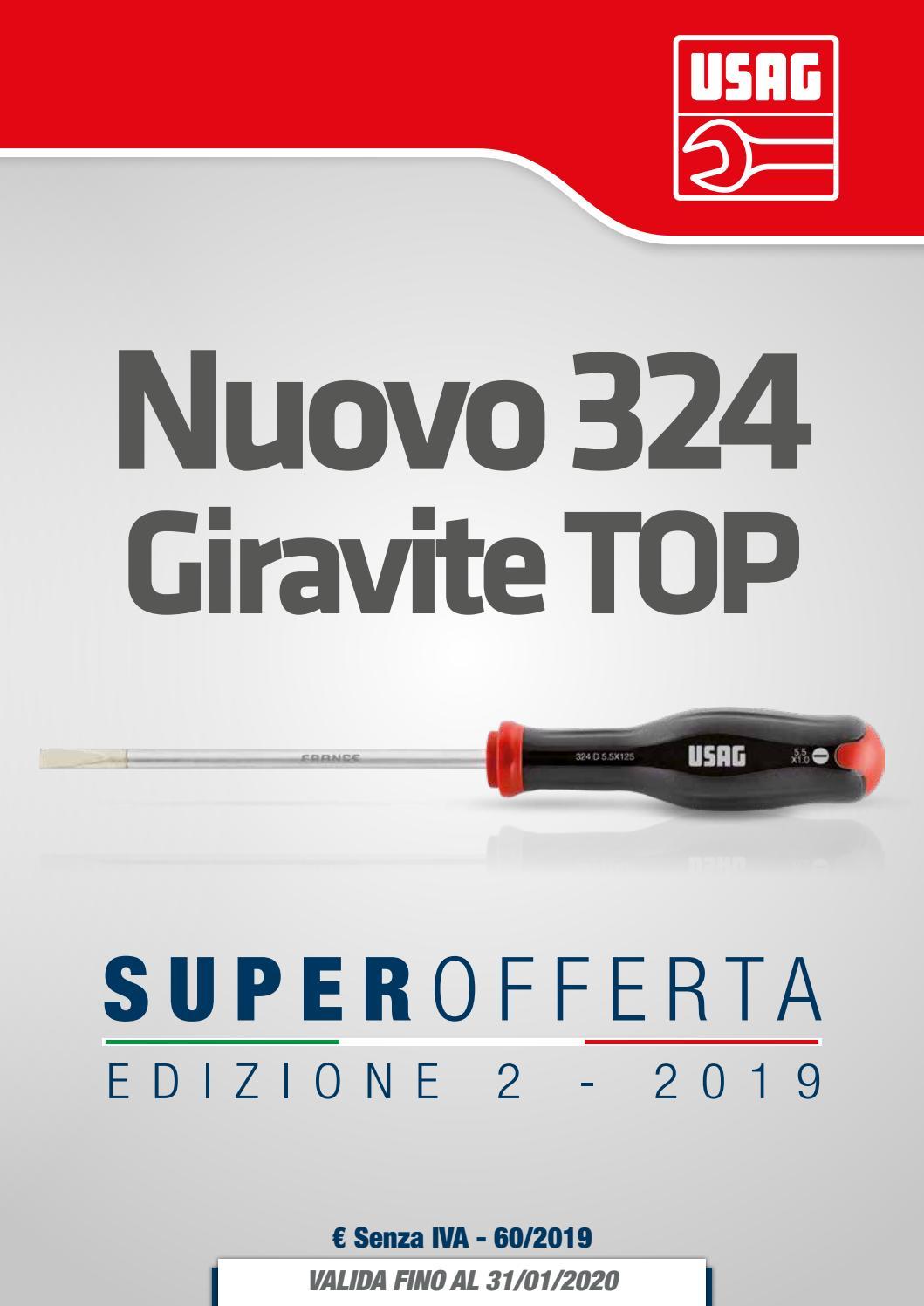 USAG 324 TX Giraviti per viti con impronta TORX®