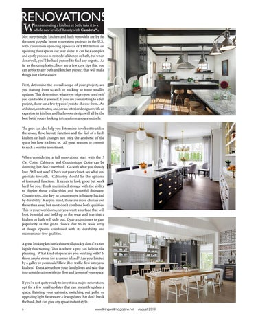 Page 6 of Renovations Updating your Kitchen or Bath with Cambria
