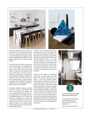 Page 7 of Renovations Updating your Kitchen or Bath with Cambria