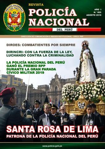 Revista Pnp Edicion N º 5 By Policia Nacional Del Peru Issuu