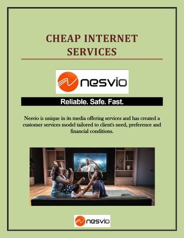 Cheap Internet By Nesvio Issuu
