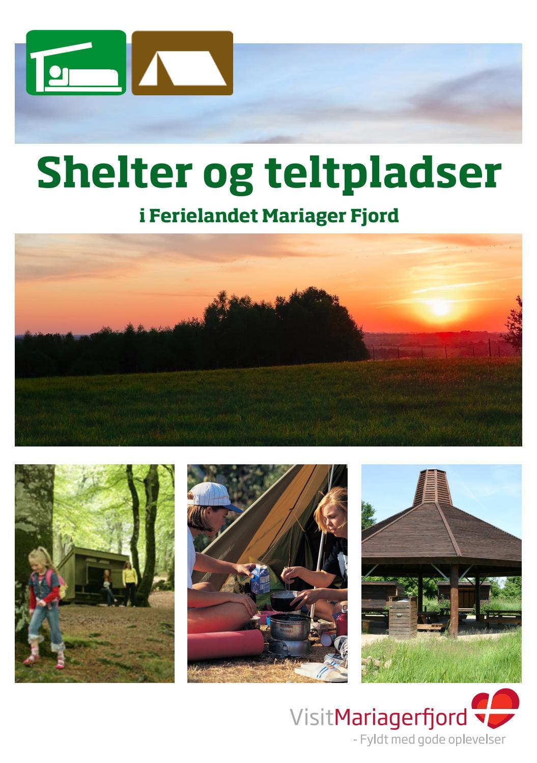 Shelter Og Teltpladser By Visitmariagerfjord Issuu