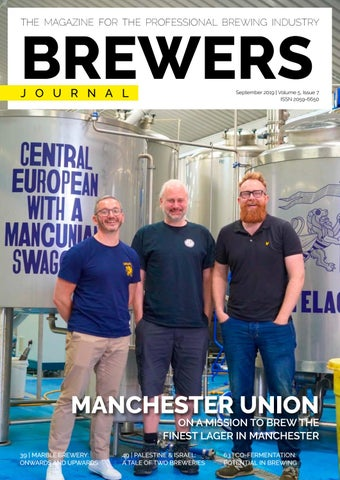 The Brewers Journal September 2019, iss 7 vol 5 by Reby
